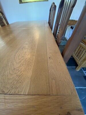 Marks And Spencer Sonoma Oak Dining Table • 200£