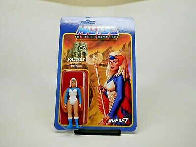 $55 • Buy Masters Of The Universe Figure Sorceress Super7 ReAction *SEALED*