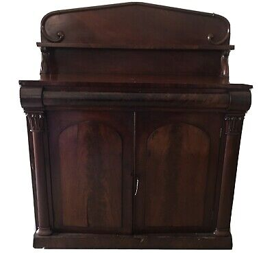 AU350 • Buy Antique Mahogany Chiffonier Sideboard