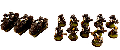 AU514.89 • Buy Painted Black Templars Crusaders & Biker Space Marines Warhammer 40k