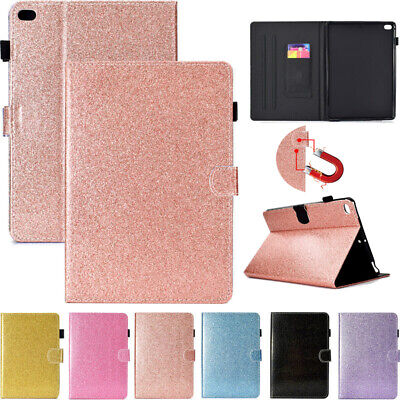 AU33.99 • Buy For IPad Air 4 Pro 11 2020 5/6/7th Gen Air 1 2 Mini 5 Glitter Leather Case Cover