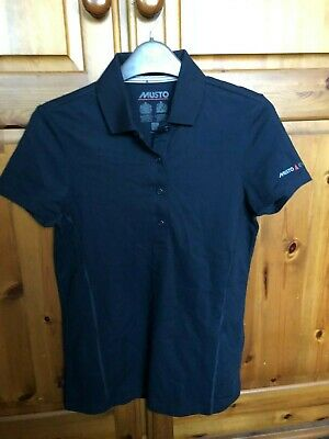 Musto Kids Evolution  Short Sleeve Ribbed Collar Polo Shirt Size 8  • 5.99£
