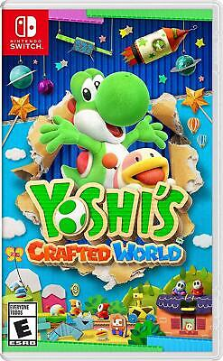 AU70.78 • Buy Yoshi's Crafted World New Factory Sealed Physical Edition For Nintendo Switch