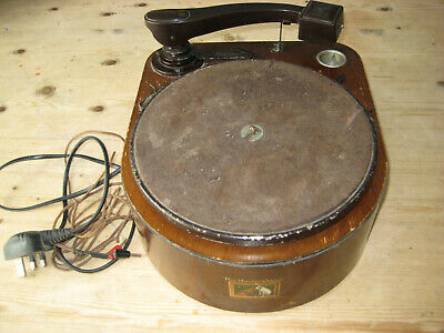 Antique Vintage HMV 122 Gramophone Record Player His Masters Voice 78rpm • 75£