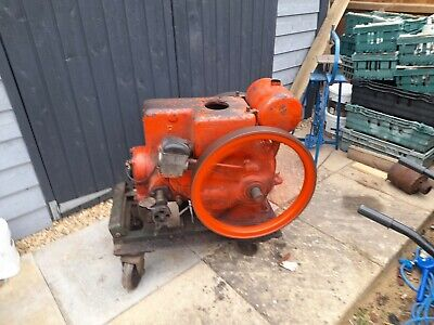 Ruston Hornsby 8pb 3hp Petrol Stationary Engine Starts And Runs Well • 325£