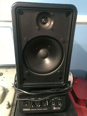 Vintage 80s Yamaha MS-20S Powered Monitor Speaker - Made In Japan • 50£