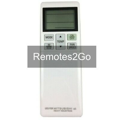 AU32.50 • Buy Mitsubishi Heavy Ind Air Conditioner Replacement Remote Control RLA502A700S