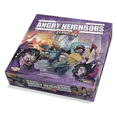 AU88.99 • Buy Zombicide Angry Neighbors Board Game Guillotine Games
