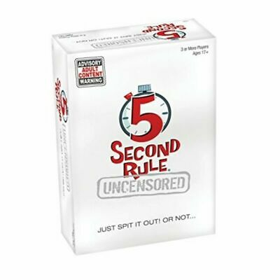 AU25 • Buy PlayMonster 5 Second Rule Uncensored Board Game. New. Pick Up Only.