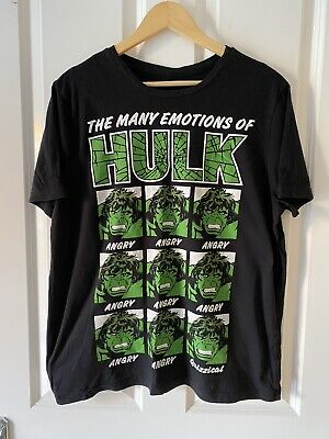 The Incredible Hulk T-shirt Black Large • 4.99£