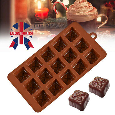 DIY Silicone Chocolate Mould Candy Baking Mold Cookies Cake Decorating Moulds • 1.99£