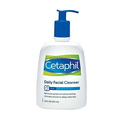 Cetaphil Daily Facial Cleanser For Normal To Oily Skin, Non Irritating, 473ml • 16.99£