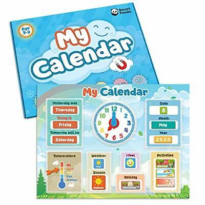 My First Calendar By SmartPanda – Kids Magnetic Educational Toy – For • 26.21£
