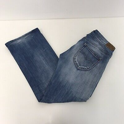 Ladies Womens Replay WV580 JANICE Slouch Blue Jeans W32 L31 • 32.99£
