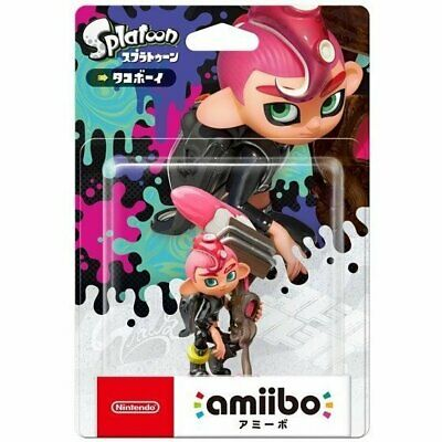 AU66.50 • Buy Limited Offer Nintendo Amiibo Octoling Boy Splatoon 2 Switch Wii Pink