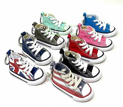 $14.99 • Buy Converse All Star Chuck Taylor Shoe Keychain Union Black Color Key Ring Chain