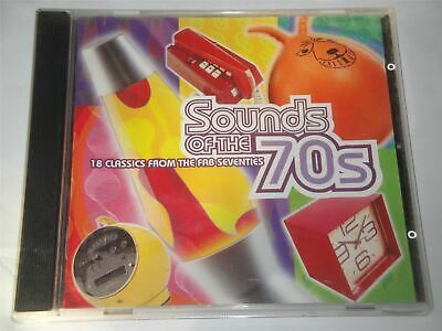 Sounds Of The 70s - 18 Classics From The FAB Seventies Time Life  TL46921 CD • 39.99£