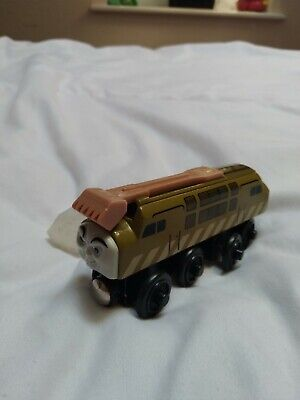 Wooden Train ANGRY FACE DIESEL 10 Thomas & Friends Wooden Railway Set • 10£