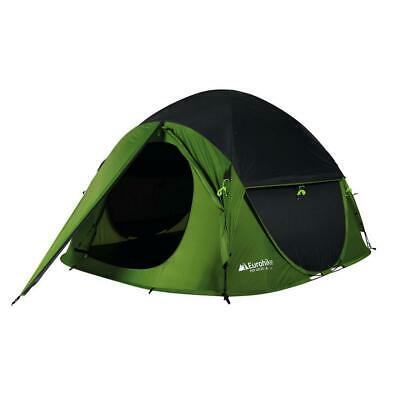 £80 • Buy New Eurohike Pop 400 DS Quick Pitch Waterproof 4 Person Tent