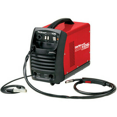 Clarke Mig106 Gas And No Gas Gasless Mig Welder + Express Delivery • 174.95£