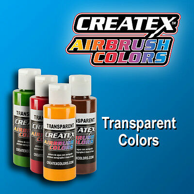 £7.20 • Buy Createx 60 Ml Transparent, Opaque,pearls, All Colors, Airbrushing