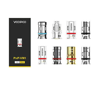 VOOPOO PnP Replacement Coils For Drag X S Vinci R Air Argus Find Trio Coil Heads • 10.99£