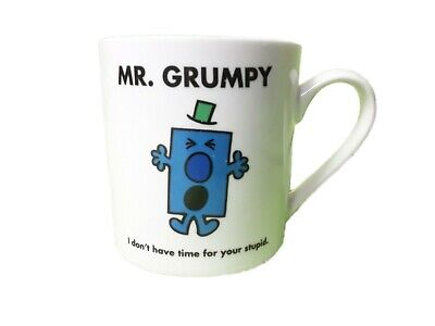 Mr Grumpy Mug  I Dont Have Time For Your Stupid 300ml Coffee Cup Tea • 7.99£
