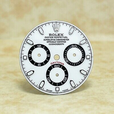 $ CDN297.09 • Buy White Dial For Rolex Daytona With Black Subs 116520, 116500,... (4130)