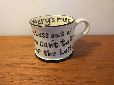 £15 • Buy The Original Yorkie Ware Moorland Pottery Mug You Can Take The Lass Out Of ...