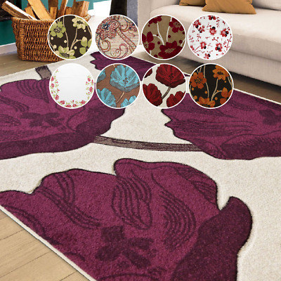 £24.95 • Buy Bravich 80x150cm Modern High-Quality Multicolour Floral Soft Thick Area Rug Mat