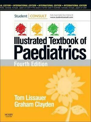 Illustrated Textbook Of Paediatrics, , Good Condition Book, ISBN 9780723435662 • 12.67£