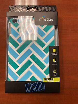 $6.99 • Buy M-Edge Echo Case For IPad Mini All Generations Cover Protection Blue Green