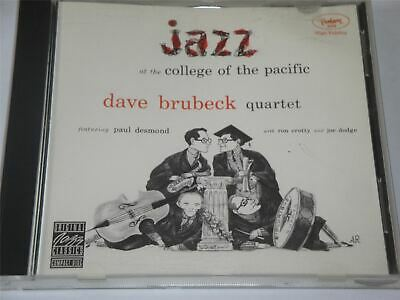 Dave Brubeck Quartet - Jazz At The College Of The Pacific - OJCCD0472 CD Album • 4.49£