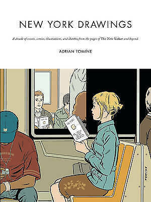 New York Drawings By Adrian Tomine (LIV10) • 24.95£
