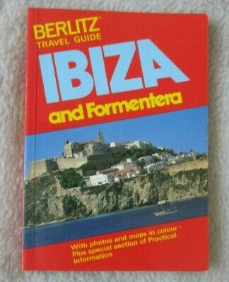 Berlitz Travel Guide To Ibiza And Formentera Pocket Guide From 1985 • 3.25£