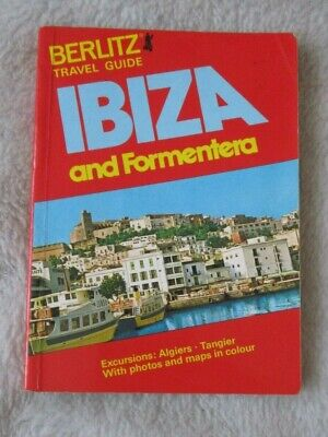Berlitz Travel Guide To Ibiza And Formentera Pocket Guide From 1982 • 3.25£