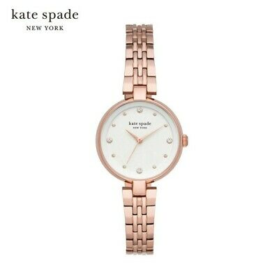 $ CDN100.19 • Buy Kate Spade KSW1594 Rose Gold Women's Annadale Bracelet Strap Watch 30mm