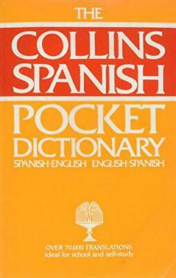 Collins Pocket Spanish Dictionary: Spanish-English, English-Spanish By , Hardcov • 2.49£