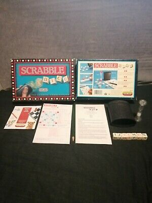 Scrabble Dice The Classic Combination By Spears Games Vintage 1990 Complete Vgc  • 5.75£