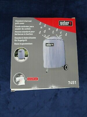 $ CDN25.31 • Buy Weber Charcoal Grill Cover For 22.5 Inch Grill / Model 7451 Gray Nib