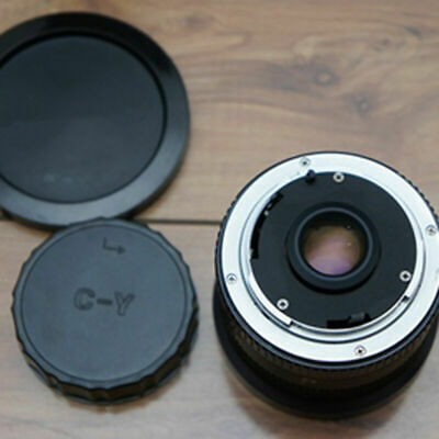 Lens Rear Cover Cap For CY C/Y Mount Contax Yashica-Black E0C4 • 2.65£