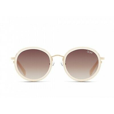 AU75 • Buy Quay Firefly Sunglasses In White Brown