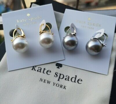$ CDN26.78 • Buy Kate Spade New York Shine On Bauble Pearl Drop Earrings