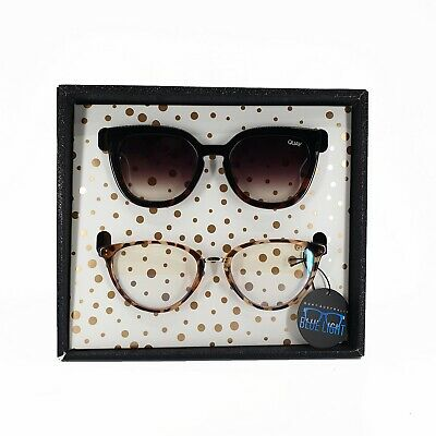 AU100 • Buy Quay Noosa And Rumours Gift Set Sunglasses In Black White