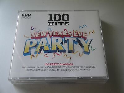 100 Hits New Years Eve Party 5 X  CD Album • 5.99£