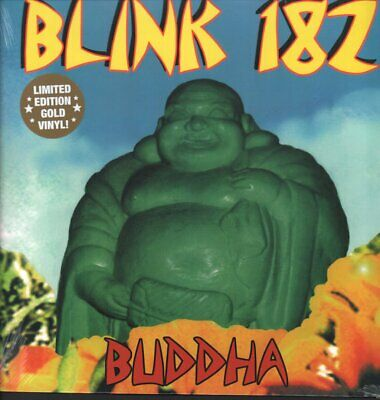 BLINK 182 Buddha LP VINYL USA Kung Fu 2020 Limited Edition Of 500 Copies On Gold • 25.19£