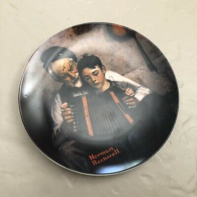$ CDN1751.69 • Buy Norman Rockwell Collector's Plate  The Music Maker  1981 Limited Edition