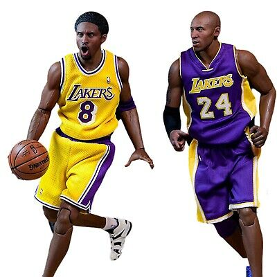 $749.95 • Buy ENTERBAY Kobe Bryant 2-Pack Real Masterpiece NBA Collection 1:6 Scale Figures