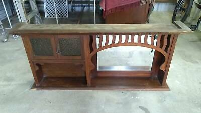 AU80 • Buy Antique Timber Overmantle Mantle Piece