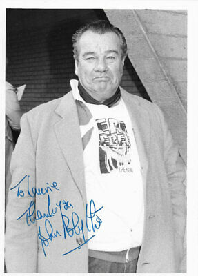 Hitchcock JOHN BLYTHE D1993 This Happy Breed, Looking For Clancy Signed Pic • 3.99£